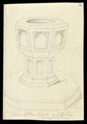 Fordham Church Font, Cambridgeshire